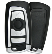 2012 BMW X3 Series smart remote keyless entry key