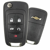 2012 Chevrolet Equinox Keyless Entry Remote Key w/ Engine Start & Trunk - refurbished