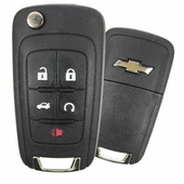 2012 Chevrolet Sonic Keyless Entry Remote Key w/ Engine Start & Trunk