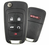 2012 GMC Terrain Keyless Entry Remote Key w/ Engine Start & Trunk