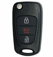 2012 Kia Sportage Keyless Entry Flip Remote - Aftermarket