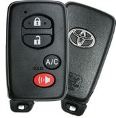 2012 Toyota Prius Smart Remote Key Fob with A/C
