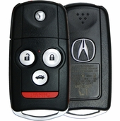 2013 Acura TL Keyless Entry Remote Key Driver 1