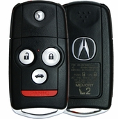 2013 Acura TL Keyless Entry Remote Key Driver 2