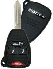 2013 Dodge Avenger Keyless Remote Key