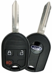 2013 Ford Explorer Keyless Remote Key 3 button