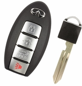 2013 Infiniti FX37 Keyless Remote Key with Power Liftgate