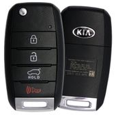 2013 Kia Sorento Keyless Entry Remote Flip Key