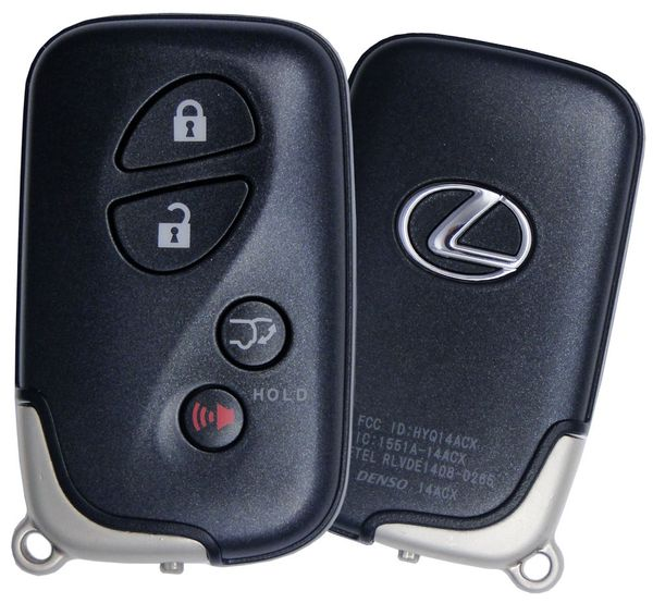 2013 Lexus CT200h Keyless Entry Remote Key Fob, 89907-48191, 89904-0E031, 8990748191, 899040E031, HYQ14ACX