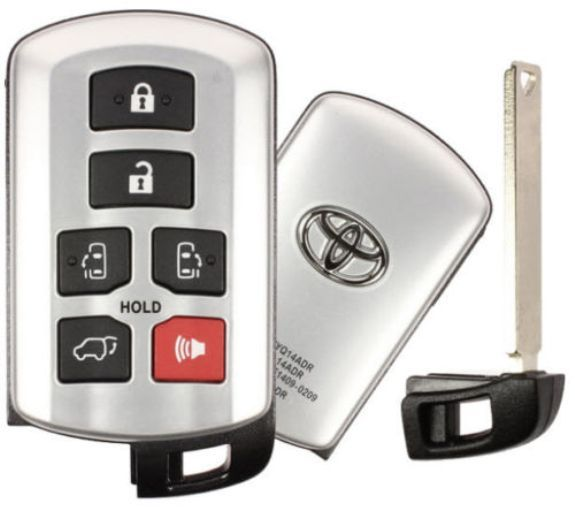2013 Toyota Sienna smart remote key