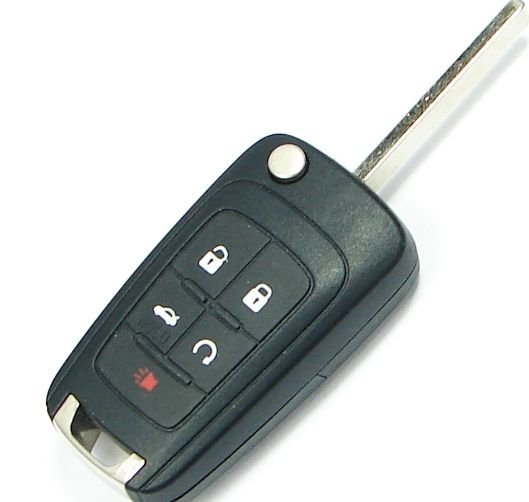 2014 Chevrolet Equinox Remote Key engine start and trunk