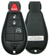 2014 Dodge Ram Truck Remote Key Fobik w/ Engine Start