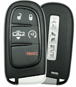 2014 Dodge Ram Truck Smart Key with suspension button