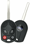 2014 Ford Escape Keyless Remote / key combo - 4 button