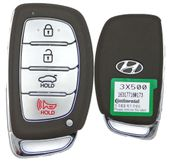 2014 Hyundai Elantra Smart Prox Keyless Entry Remote