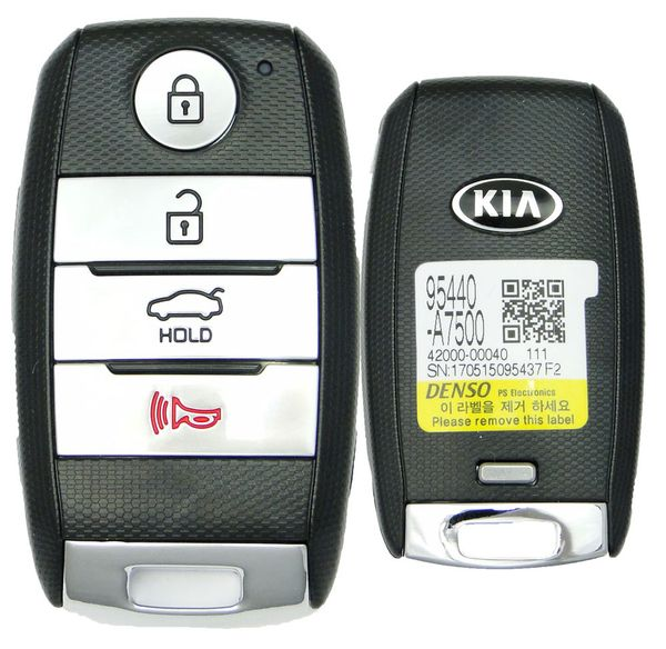 2014 Kia Forte Smart Remote Key , 95440-A7500 , 95440A7500, CQOFN00040