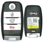 2014 Kia Forte Smart Proxy Keyless Entry Remote Key