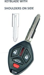2014 Mitsubishi Lancer Keyless Remote Key