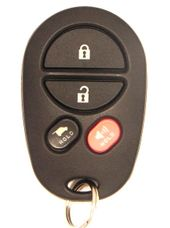 2014 Toyota Sequoia Keyless Remote w/ Glass Hatch - Used