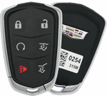 2015 Cadillac Escalade Smart Proxy Keyless Entry Remote - refurbished