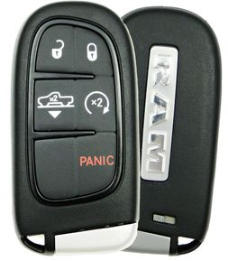 2015 Dodge Ram Truck Smart Key with suspension button