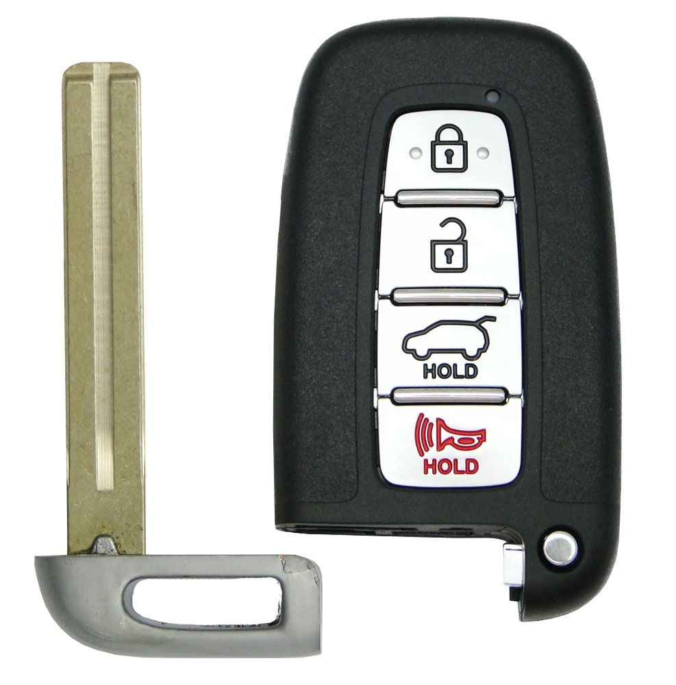 New Smart Remote Key Replacement Uncut Blade Blank Emergency Insert For Sonata
