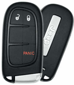 2015 Jeep Cherokee Smart Keyless Entry Remote Start Keyless Enter - N - Go 68105087AC  GQ4-54T