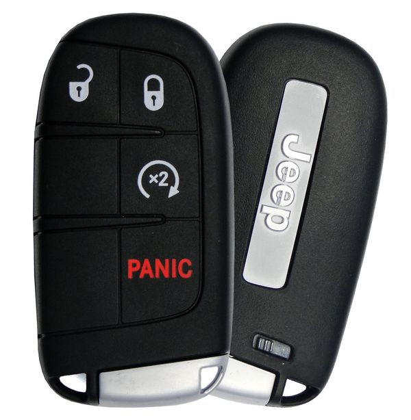 2015 Jeep Grand Cherokee smart remote, 68143500AC, 68143500AA, 68143500AB, M3N-40821302, M3N40821302