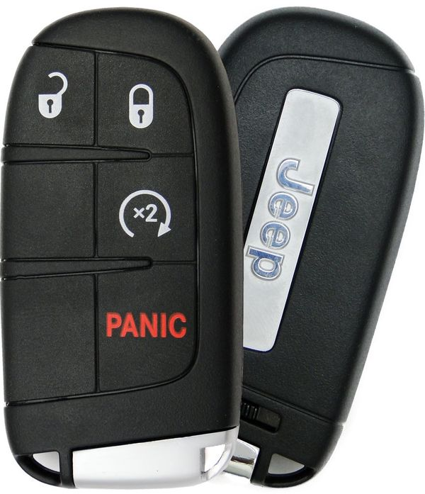 2015 Jeep Renegade Smart Keyless Remote 6BY88DX9AA, 71779544, 68264811AA, 68266733AA, 6FD98DX9AA, M3N40821302, M3N-40821302
