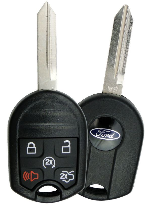 164-R8000 164R8000 5921467 2015 Lincoln MKZ Remote Key Fob 5 button trunk remote car start