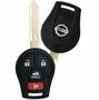 2015 Nissan Rogue Keyless Entry Remote Key - 4 button'