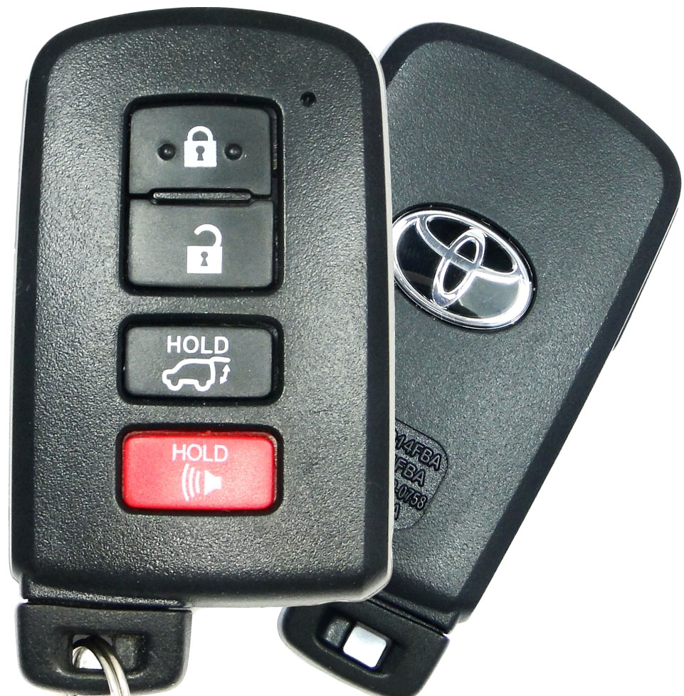 2009 toyota highlander key fob battery replacement
