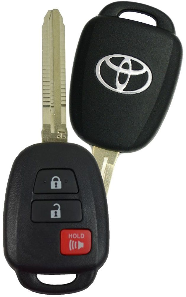 2017 Toyota Rav4 Remote Keyless Entry Key Fob Transmitter 890710r040 Gq452t