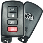 2015 Toyota RAV4 Smart Remote Key Fob Keyless Entry - refurbished
