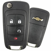 2016 Chevrolet Equinox Keyless Entry Remote Key w/Remote Start - refurbished
