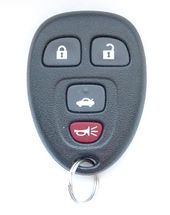 2016 Chevrolet Impala Keyless Entry Remote