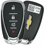 2016 Chevrolet Malibu Smart Keyless Entry Remote Key - refurbished