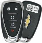 2016 Chevrolet Malibu Smart Keyless Entry Remote Key w/ Engine Start - refurbished