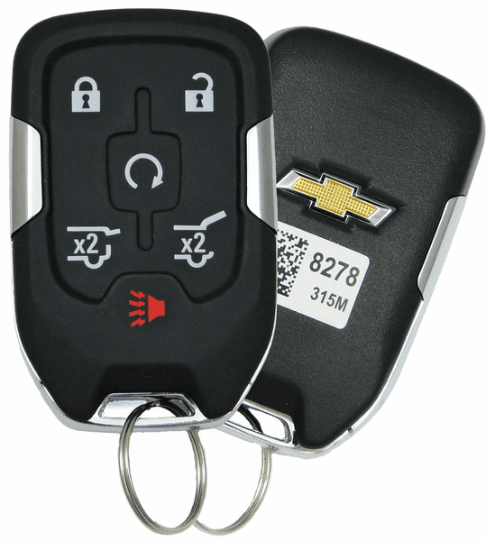 2016 Chevrolet Tahoe smart proximity keyless entry remote ...