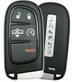 2016 Dodge Ram Truck Smart Key with suspension button