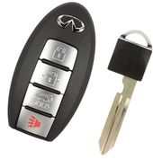 2016 Infiniti QX70 Keyless Remote Key with Power Liftgate