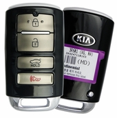 2016 Kia Cadenza Keyless Entry Remote Key