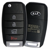 2016 Kia Soul Keyless Entry Remote Key