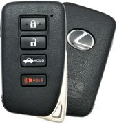 2016 Lexus ES350 Smart Keyless Entry Remote Key