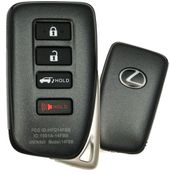 2016 Lexus RX450h Smart Keyless Entry Remote