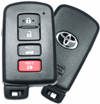 2016 Toyota Camry Keyless Entry Smart Remote Key
