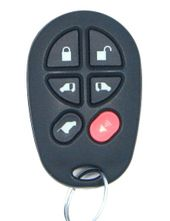 2016 Toyota Sienna XLE/Limited Keyless Entry Remote