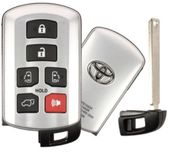 2016 Toyota Sienna Keyless Entry Smart Remote Key