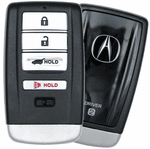 2017 Acura RDX Smart Keyless Entry Remote Key Driver 2