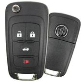 2017 Buick Verano Keyless Entry Remote Key - refurbished